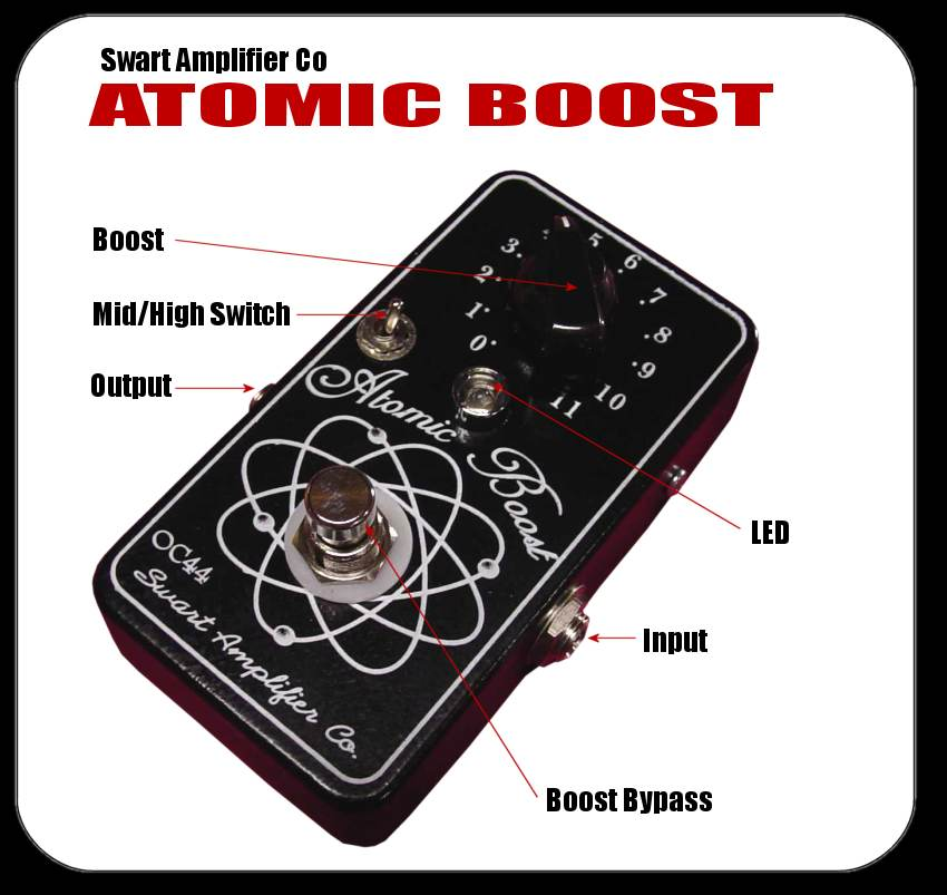 Swart Atomic Boost - Dallas Rangemaster Improved! - Return to last page