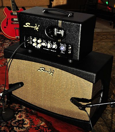 The new Swart ST-Stereo Head & Cabinet