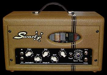 See full view of Swart Atomic Space Tone Head - 20w of glorious ALL TUBE POWER!